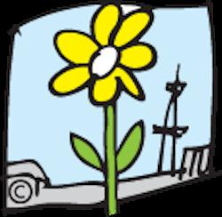 BritzerGartenBlume-Logo